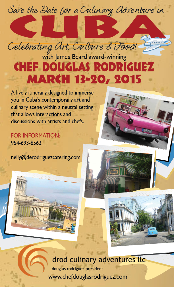 Save the Date: Culinary Trip – Art, History, Architecture and Cuisine of the Cuba